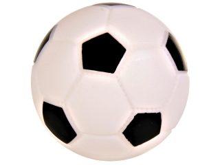 jucarii caini - trixie minge fotbal 8 cm cu sunet